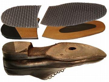 靴底だけ、同じの貼り付ければいいのよ