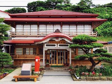 当時泊まった旅館が、『太宰の宿 ふかうら文学館』になってます