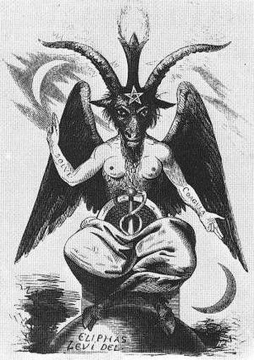 悪魔の化身としてのヤギ