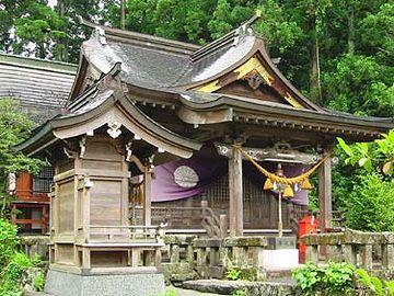 宇奈岐日女神社・社殿