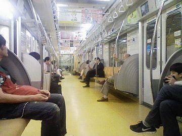 「地下鉄に乗ってたら面白いんじゃない?