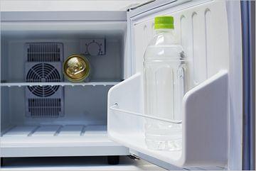 わたしの部屋の冷蔵庫は、実際このくらい