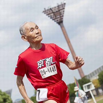 105歳の短距離ランナー