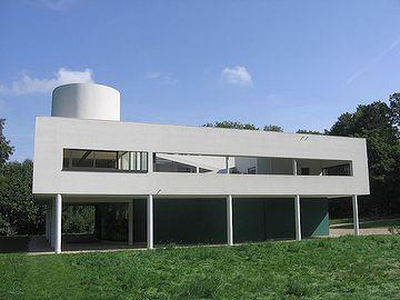 パリ郊外に建つ『サヴォア邸』