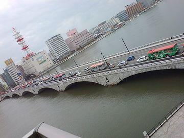 新潟の萬代橋とおんなじくらいじゃん