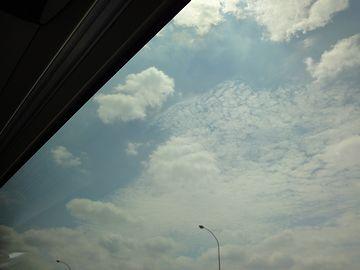 空はいい具合に晴れてきました