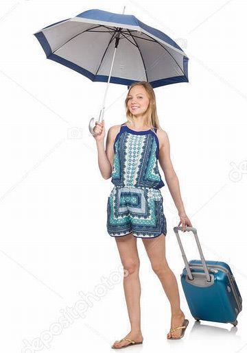 傘を差したら両手が塞がってしまいます
