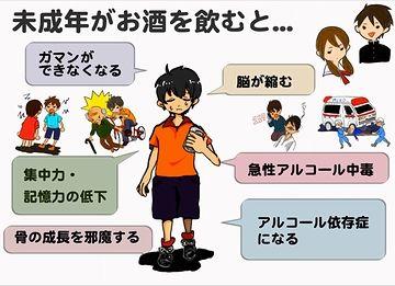 ほ、ほんまか? わたしは、高校の時から晩酌してたぞ(新潟県では普通だと思います)。