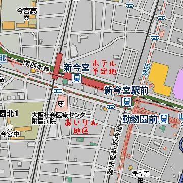 星野リゾートが、新今宮駅前の4,200坪の市有地を、18億円で買収