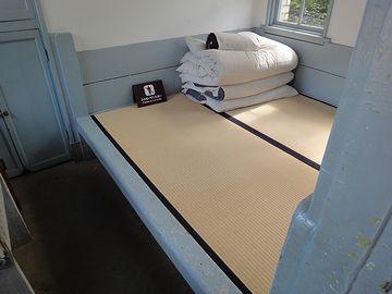 いきなり寝床が写ってます