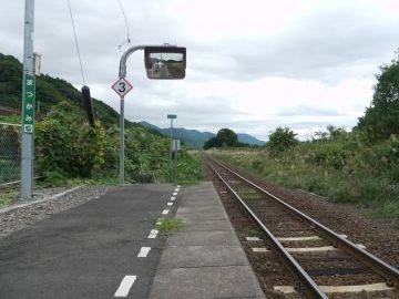 『松神』駅です