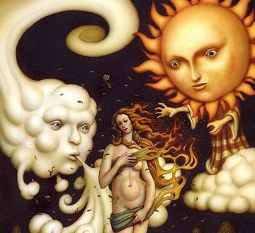 『北風と太陽』って話があるけど……