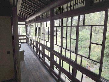 2階南側の廊下