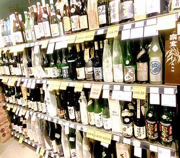 これだけ銘柄のそろったスーパーも珍しい。アメリカのワシントン州にある『宇和島屋ベルビュー店』