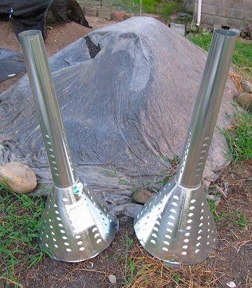 籾殻燻炭器