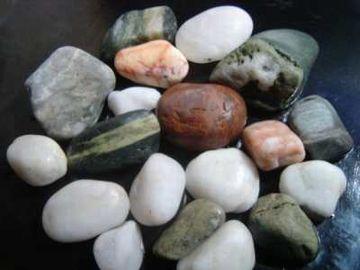 桂浜の五色石