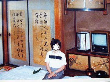 旅館時代は、襖絵を枕に寝ることも出来ました