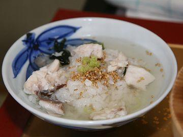 美野幸「石焼き定食」豪華な鯛茶漬け