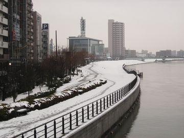 最後の雪景色