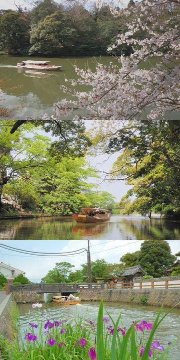 「ぐるっと松江堀川めぐり」風景
