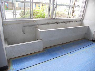 愛知県豊田市の小学校。2012年改修直前の写真のようです。