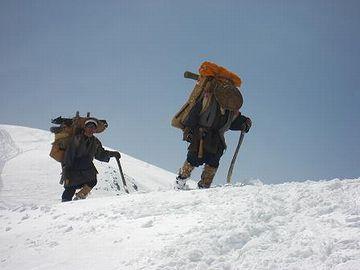 剱岳登頂成功
