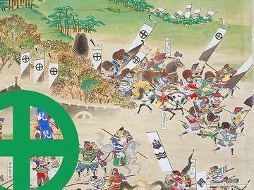 関ヶ原から敗走する島津勢