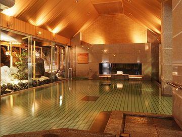 新潟県新発田市月岡温泉『泉慶』の大浴場