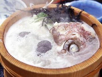 美野幸・石焼き鍋の鯛