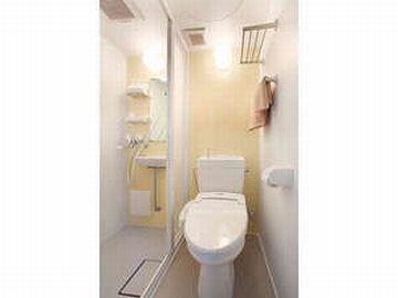 バスタブのないシャワー室