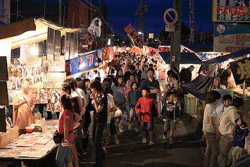 『御託宣』が行われるのは、蒲原祭りの夜