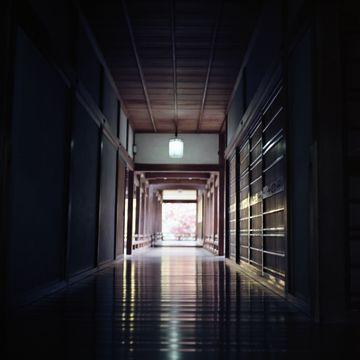 廊下の光り具合