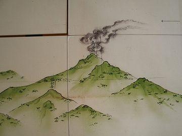 鳥海山が噴火した