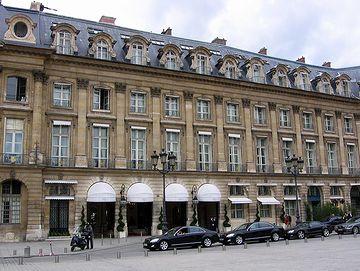 ホテル リッツ パリ