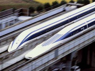 空を飛ぶみたいな列車が開発されてるわけでしょ