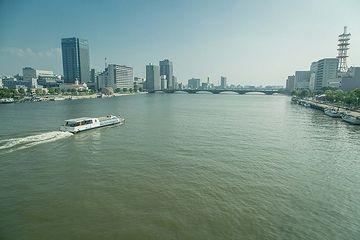 現在の信濃川は、河口近くでも300メートルくらいでしょうか