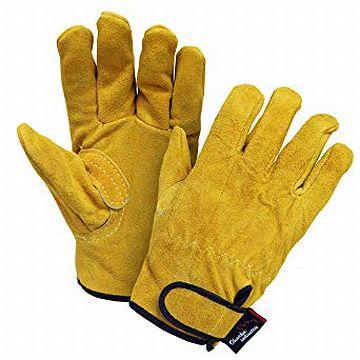 革手袋は、今でも作業用に使われてます