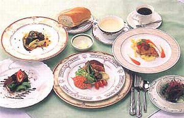 国民宿舎 椰子・フランス料理のフルコース