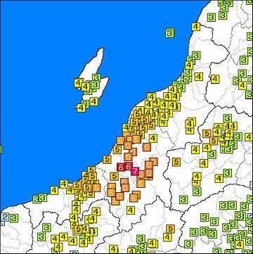 2004年の中越地震では、震度7を記録した地域です