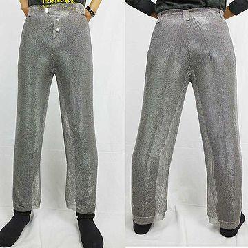 ステンレスのズボン(用途不明)