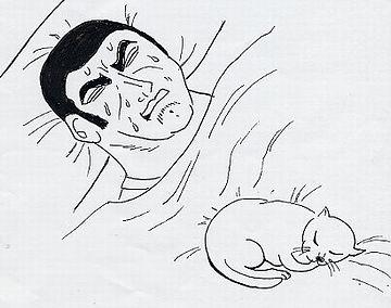それじゃ、ゆっくり眠れないんじゃないですか?