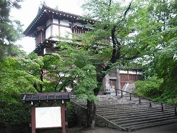 久保田城の表門