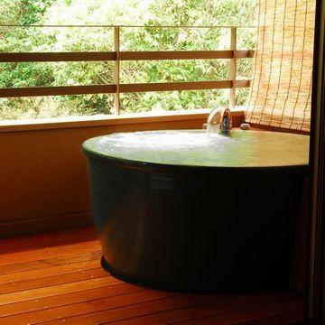 「有楽」客室露天風呂