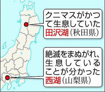 田沢湖と西湖
