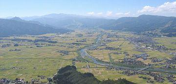 新潟県『六日町盆地』