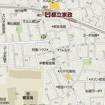 東京にいたとき、中野区若宮というところに住んでたことがあるんです。