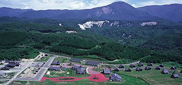『アオーネ白神十二湖』というリゾート施設があります