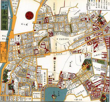 だから江戸では、地図が発達したのよ