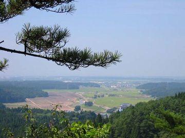 小高い丘で、見晴らしがいいですよ