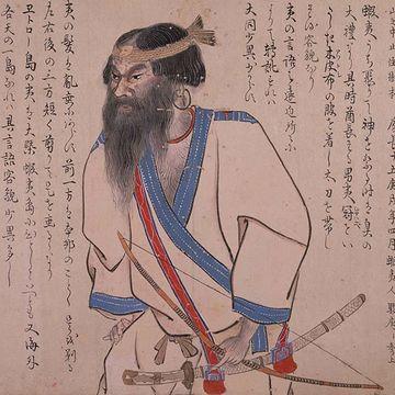 『蝦夷島奇観(えぞしまきかん)/1800年』